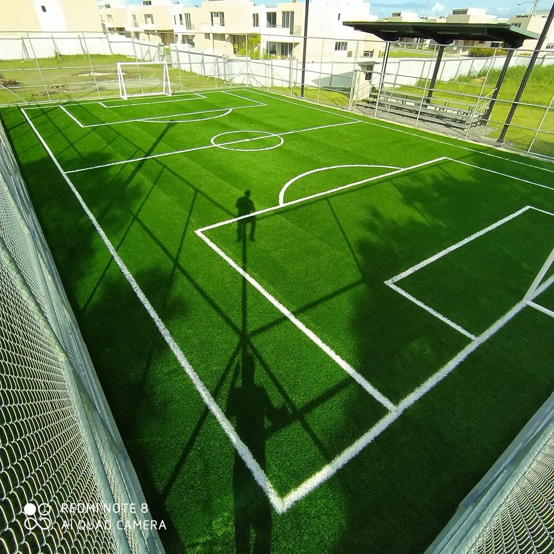 Cancha de futsal de villa sur amenidades